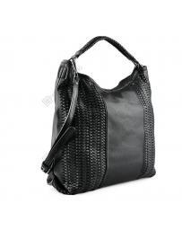 Черна дамска ежедневна чанта Kirtida
