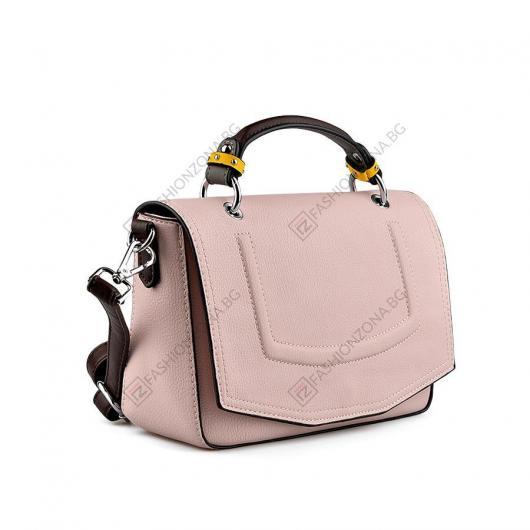Розова дамска ежедневна чанта Inka