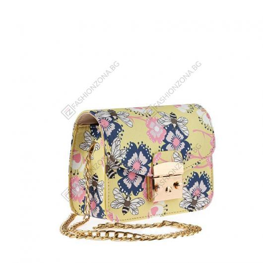 Жълта дамска ежедневна чанта Deniz