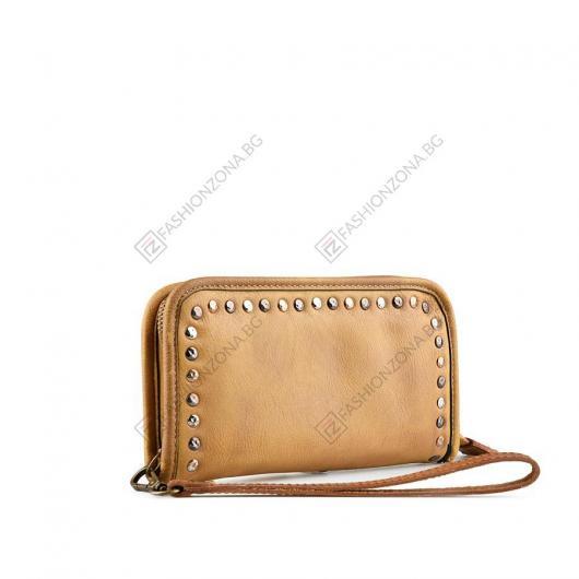 Кафява дамска ежедневна чанта Nuo