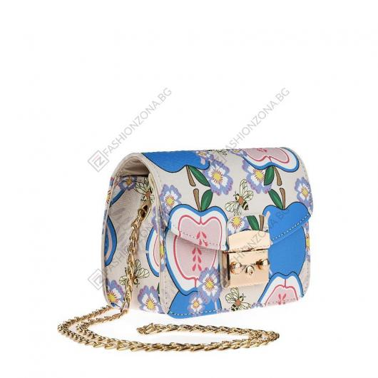Бежова дамска ежедневна чанта Kekoa