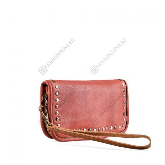 Червена дамска ежедневна чанта Zsanet
