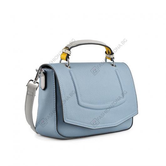 Синя дамска ежедневна чанта Ase