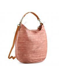 Розова дамска ежедневна чанта Wioleta
