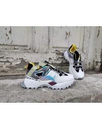 Бели дамски ежедневни обувки Iekika