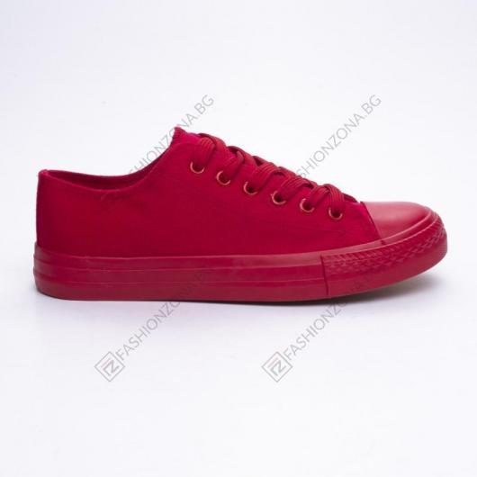 Червени дамски ежедневни обувки Sacagawea