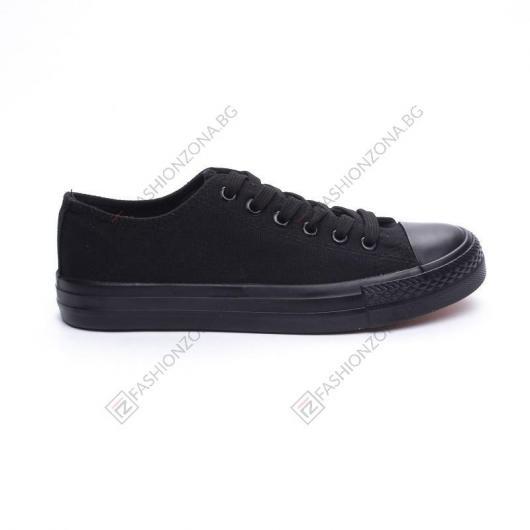 Черни дамски ежедневни обувки Matrona