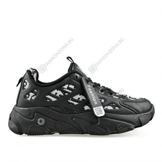 Черни дамски ежедневни обувки Sigfrid