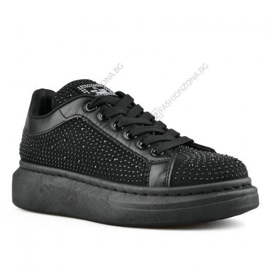 Черни дамски ежедневни обувки Phuong