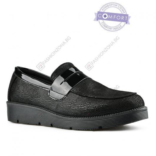 Черни дамски ежедневни обувки Dionysia