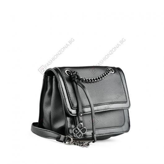 Черна дамска ежедневна чанта Kanoa