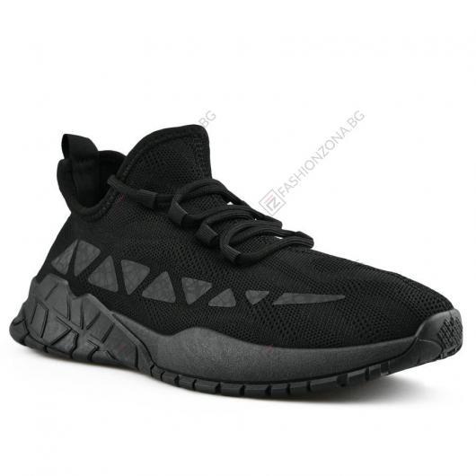 Черни мъжки ежедневни обувки Cirillo