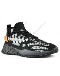 Черни мъжки ежедневни обувки Faustano
