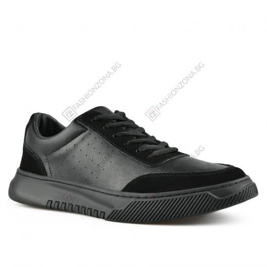 Черни мъжки ежедневни обувки Joan