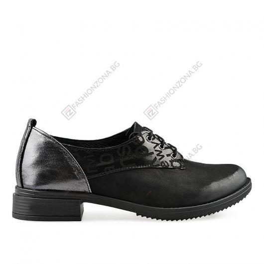 Черни дамски ежедневни обувки Selby