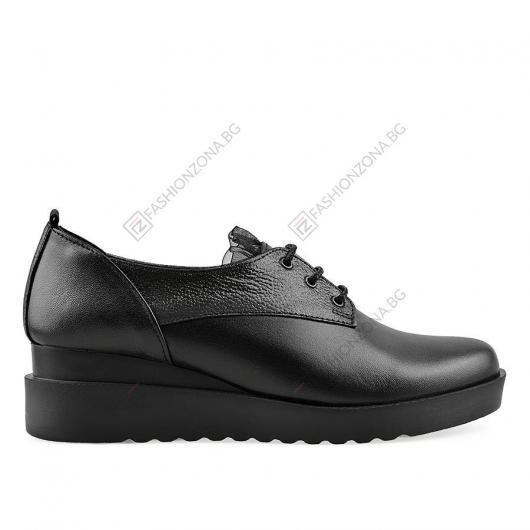 Черни дамски ежедневни обувки Yelizaveta