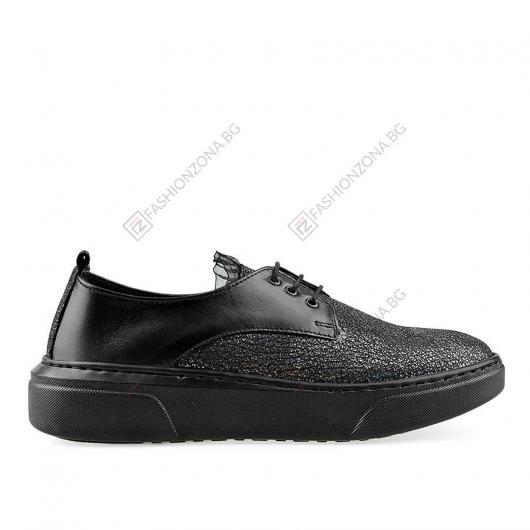 Черни дамски ежедневни обувки Amaka