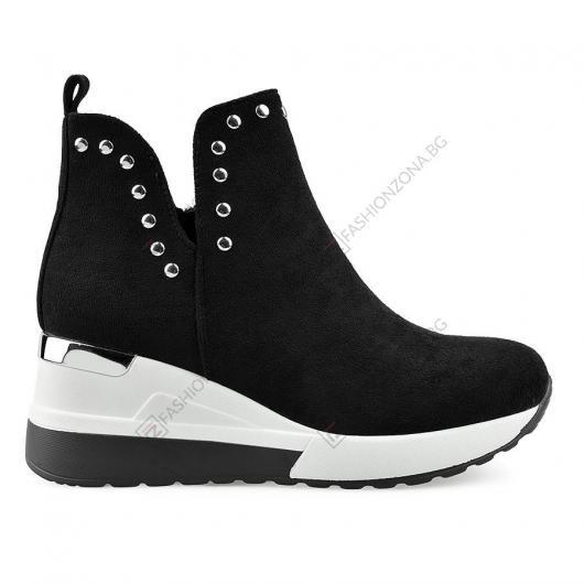 Черни дамски ежедневни обувки Azubah