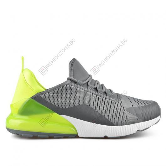 Сиви мъжки ежедневни обувки Blas