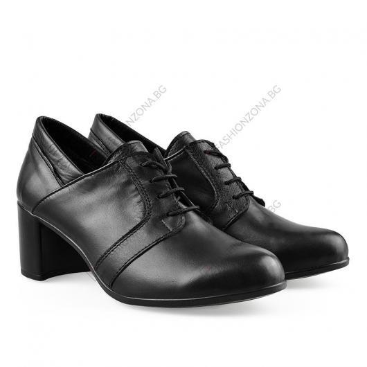Черни дамски ежедневни обувки Su