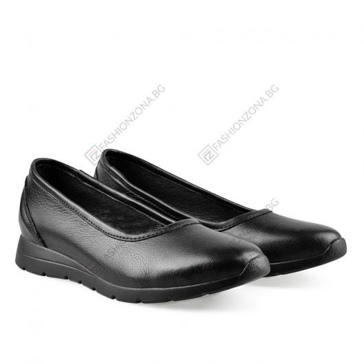 Черни дамски ежедневни обувки Meda