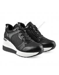 Черни дамски ежедневни обувки Desta
