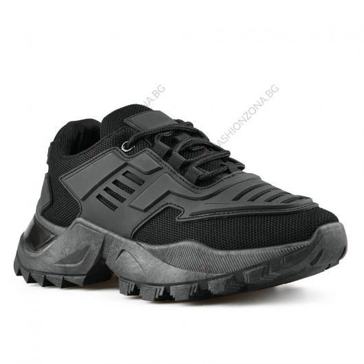 Черни дамски ежедневни обувки Zareen