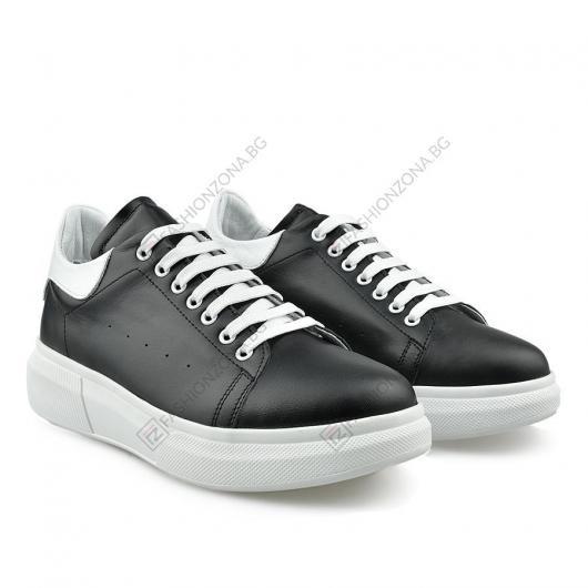Черни дамски ежедневни обувки Ileana