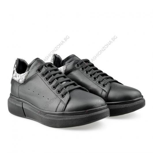 Черни дамски ежедневни обувки Naiyana