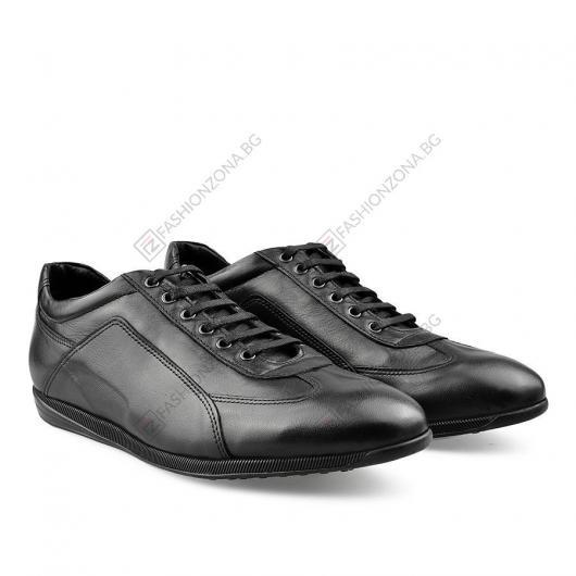 Черни мъжки ежедневни обувки Maximilliano