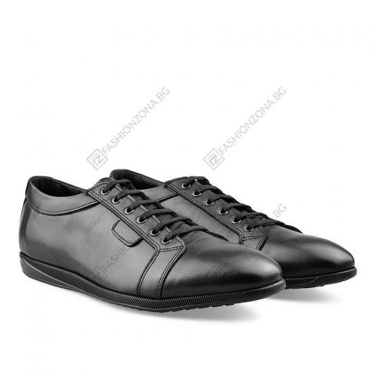 Черни мъжки ежедневни обувки Carmen