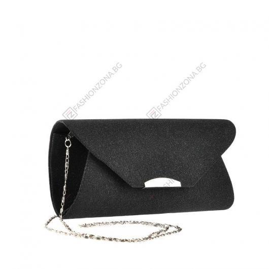 Черна дамска елегантна чанта Gussie