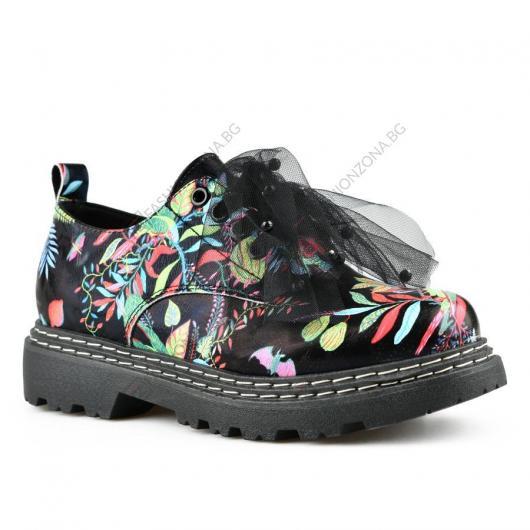 Черни дамски ежедневни обувки Dharma