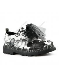 Бели дамски ежедневни обувки Nanna
