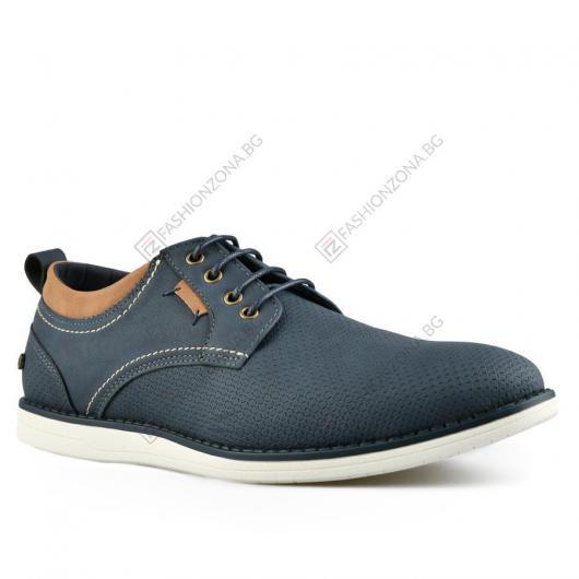 Сини мъжки ежедневни обувки Giuseppe