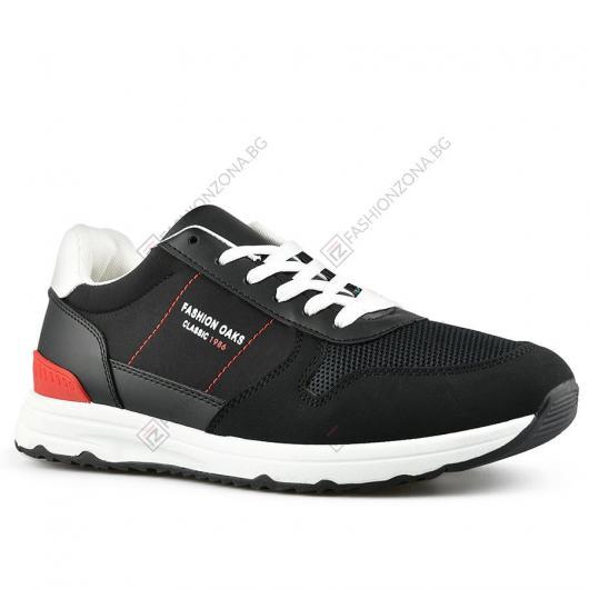Черни мъжки ежедневни обувки Zergio