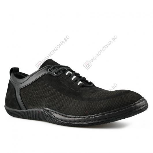 Черни мъжки ежедневни обувки Yakira