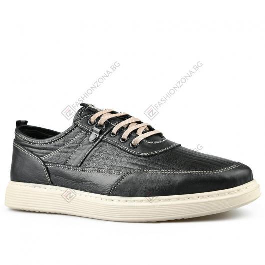 Черни мъжки ежедневни обувки Sevil