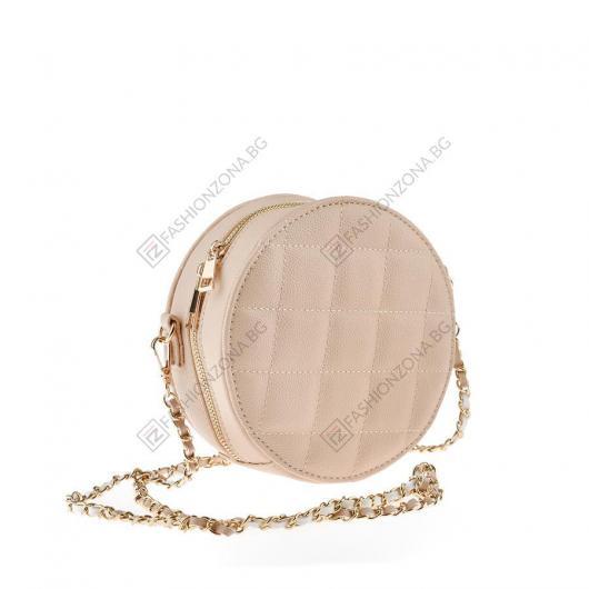 Бежова дамска ежедневна чанта Britt