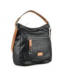 Черна дамска ежедневна чанта Canan