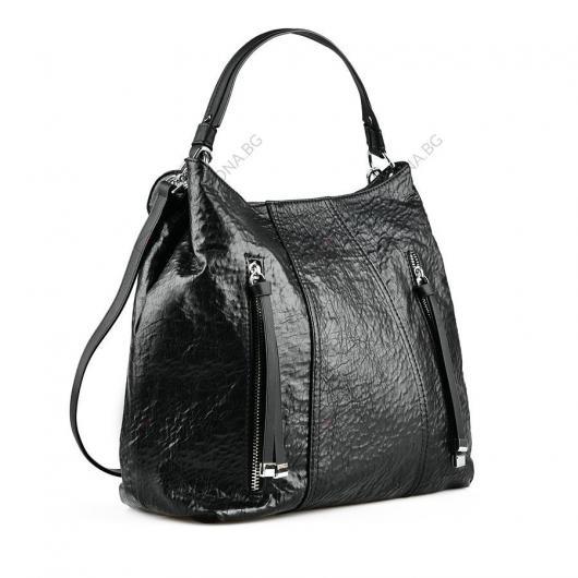 Черна дамска ежедневна чанта Isobel
