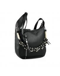 Черна дамска ежедневна чанта Klava