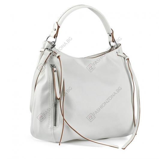 Бяла дамска ежедневна чанта Adebowale