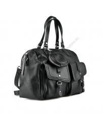 Черна дамска ежедневна чанта Masika