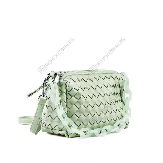 Зелена дамска ежедневна чанта Sinead