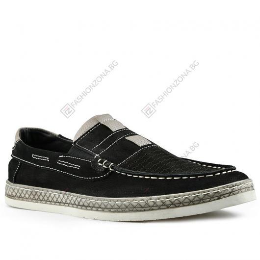 Черни мъжки ежедневни обувки Maricio
