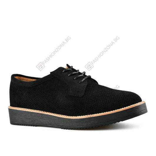 Черни дамски ежедневни обувки Ilana