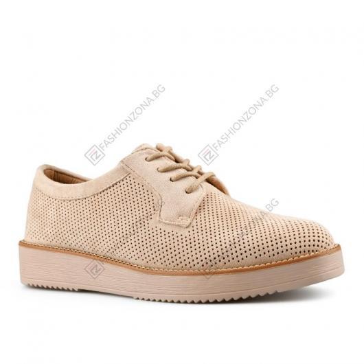 Бежови дамски ежедневни обувки Jezebel