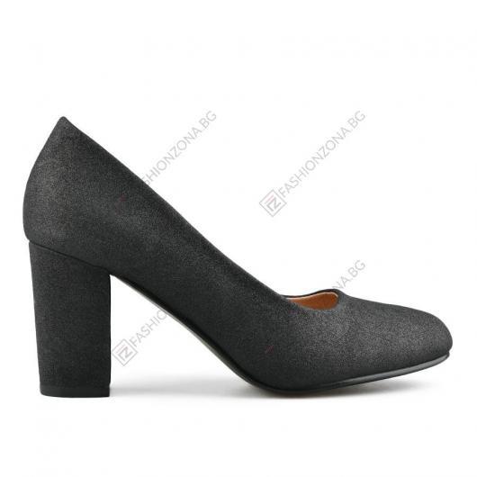 Черни дамски елегантни обувки Fang