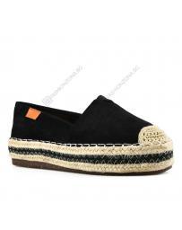 Черни дамски ежедневни обувки Nonie